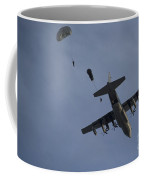 Personnel Jump From A C-130 Hercules Coffee Mug