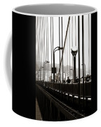 Perspective On The Golden Gate Bridge Coffee Mug