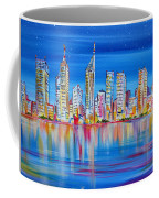 Perth Skyscrapers Skyline On The Swan River Coffee Mug