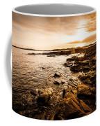 Petal Point Ocean Sunrise Coffee Mug