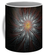 Petals In Pewter Coffee Mug