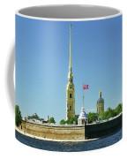 Peter And Paul Fortress. Saint Petersburg, Russia Coffee Mug