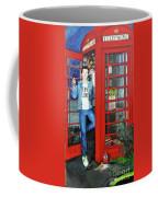 Peter Capaldi Dr Who Putting You Through Coffee Mug
