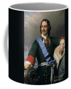 Peter I The Great Coffee Mug