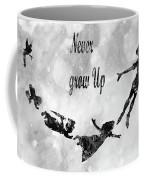 Peter Pan-black Coffee Mug