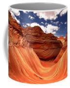 Petrified Dunes Landscape Coffee Mug