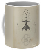Pewter Caster Coffee Mug
