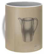 Pewter Pitcher Coffee Mug