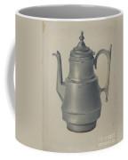 Pewter Teapot Coffee Mug