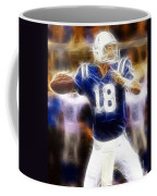Peyton Manning Coffee Mug by Paul Ward
