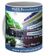 Pgcil Recruitment Coffee Mug