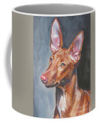 Pharaoh Hound Coffee Mug by Lee Ann Shepard