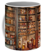 Pharmacy - Get Me That Bottle On The Second Shelf Coffee Mug by Mike Savad