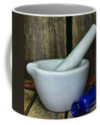 Pharmacy - Mortar And Pestle - Square Coffee Mug