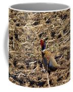 Pheasant On The Move Coffee Mug