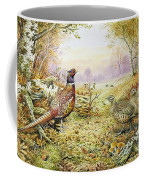 Pheasants In Woodland Coffee Mug