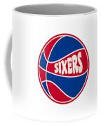 Philadelphia 76ers Retro Shirt Coffee Mug