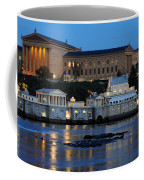 Philadelphia Art Museum And Fairmount Water Works Coffee Mug by Gary Whitton