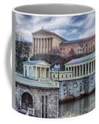 Philadelphia Art Museum At The Water Works  Coffee Mug