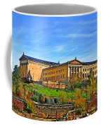 Philadelphia Art Museum From West River Drive. Coffee Mug