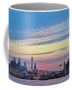 Philadelphia At Dawn Coffee Mug by Bill Cannon