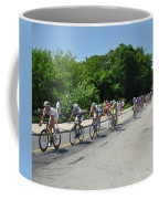 Philadelphia Bike Race - Manayunk Avenue Coffee Mug