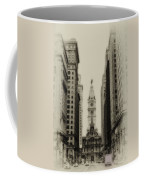 Philadelphia City Hall From South Broad Street Coffee Mug
