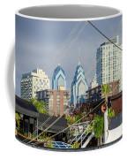 Philadelphia From Penns Landing Coffee Mug