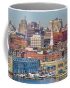 Philadelphia - From The Ben Franklin Bridge Coffee Mug