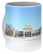 Philadelphia - Memorail Hall In Winter Coffee Mug