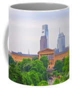 Philadelphia Museum Of Art From Lemon Hill Coffee Mug