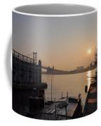 Philadelphia - Penn's Landing Sunrise Coffee Mug