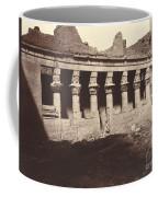 Philae, Cour Int?rieure, Colonnade De L'ouest Coffee Mug