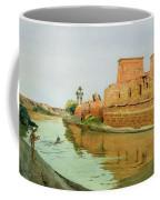 Philae On The Nile Coffee Mug by Alexander West