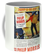 Philip Morris Cigarette Ad Coffee Mug