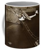Philippine Clipper A Pan Am Clipper Over The Golden Gate Bridge  1935 Coffee Mug