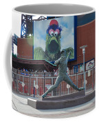 Phillies Steve Carlton Statue Coffee Mug