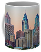 Philly At Sunset Coffee Mug