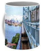 Philly From The Bridge Coffee Mug