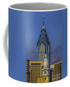 Philly Skyline-old And New Coffee Mug