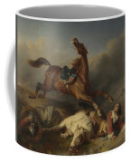 Philogene Tschaggeny   An Episode On The Field Of Battle Coffee Mug