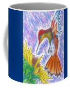 Phoenix Fire Hummingbird Coffee Mug