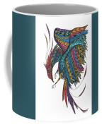 Phoenix Landing Coffee Mug by Barbara McConoughey