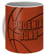 Phoenix Suns Leather Art Coffee Mug