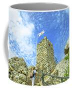 Photographer At Moorish Fortress Coffee Mug