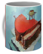 Piano In Red Coffee Mug