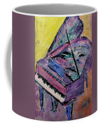Piano Pink Coffee Mug by Anita Burgermeister