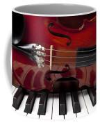 Piano Reflections Coffee Mug