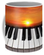 Piano Sunset Coffee Mug