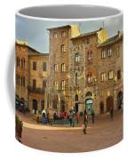 Piazza Della Cisterna Coffee Mug